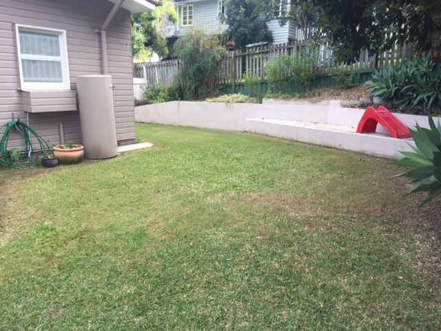 """After"" photo of some great lawn mowing and lawn care work in Camp Hill © GreenSocks"