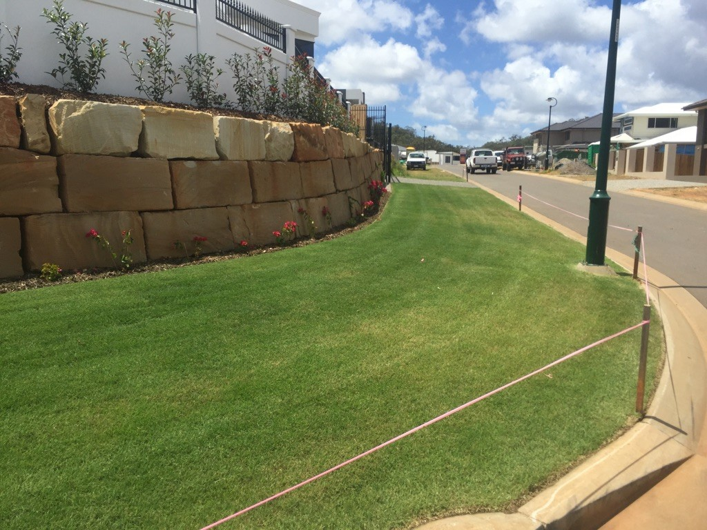 """After"" photo of some great lawn mowing and lawn care work in Carindale © GreenSocks"