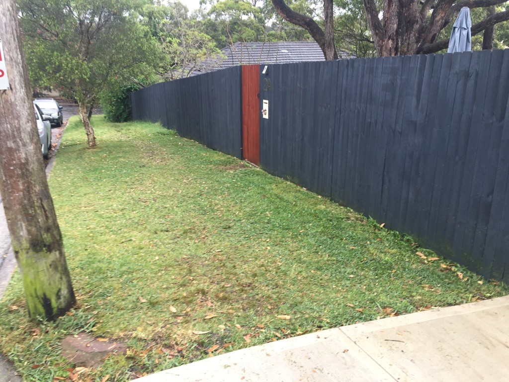 """""""After"""" photo of lawn mowing Manly Vale © GreenSocks"""
