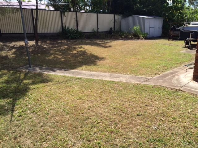 """After"" photo - Durack yard clean ups and lawn mows - © GreenSocks"