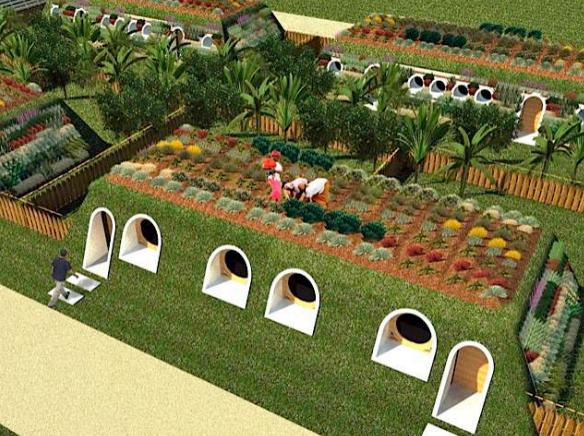 Would You Live Under Your Garden?