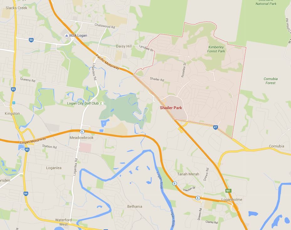 Need Shailer Park lawn mowing services? Just show us where you are on the Google Map!