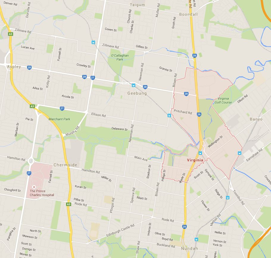 Want mowing prices in Virginia, Brisbane? Tell us where you are on the Google Map!