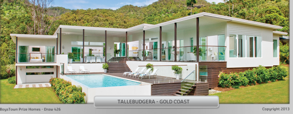 Tallebudgera Valley mowing - BoysTown prize home 426 (Image credit: BoysTown)