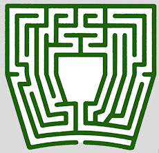 Design of turf mazes (Image credit: Labyrinthos.net)