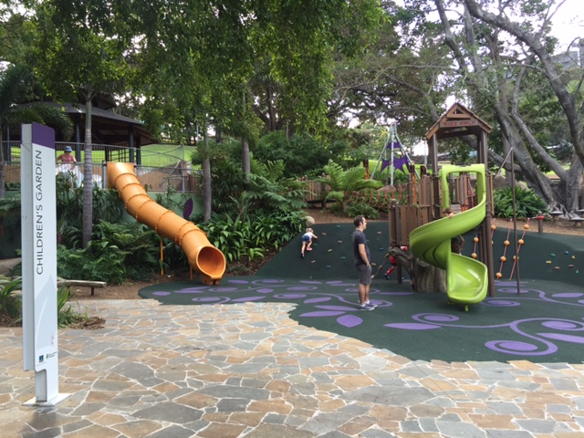 Another playground for kids at Roma Street Parkland © GreenSocks