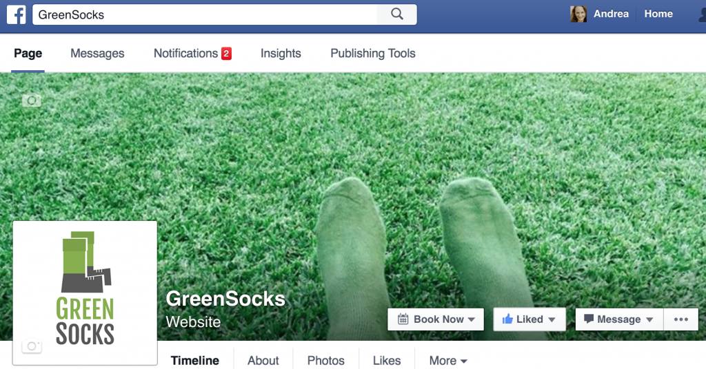 GreenSocks Facebook Page