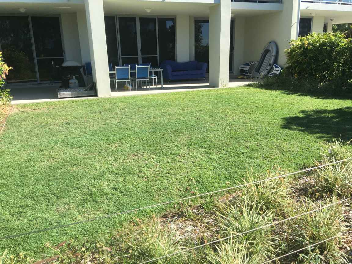 After the Sandstone Point Lawn Care © GreenSocks