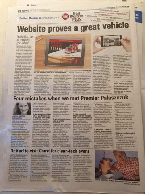 Sunshine Coast Daily - GreenSocks and Premier - 4 Mistakes