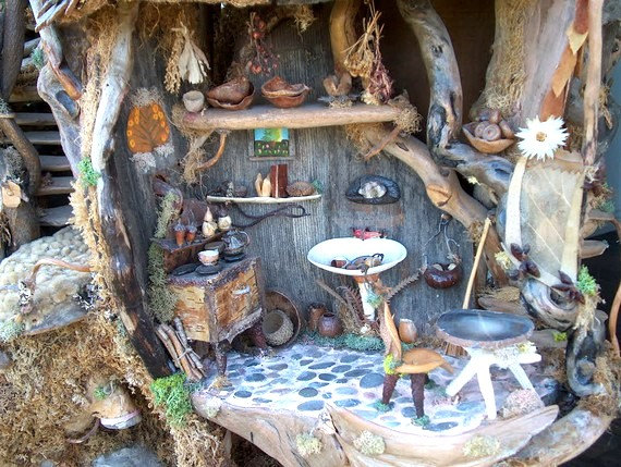 Inside The Fairy Treehouse